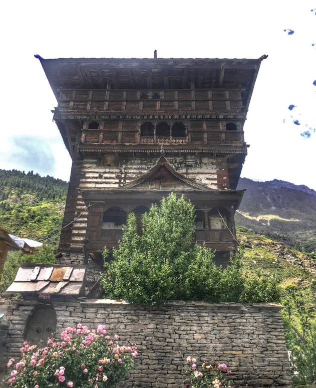 Kamru Fort Sangla valley Himachal Pradesh India | Places to visit in Sangla Valley