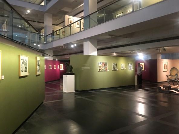 Interiors of National Gallery of Modern Art Delhi