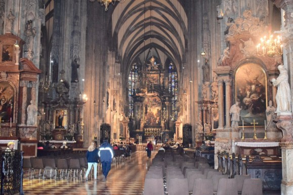 Places to visit in Vienna in 2 days | St Stephans Cathedral Interiors-Vienna-Austria