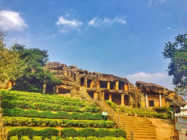 udaygiri caves Bhubaneshwar Odisha India