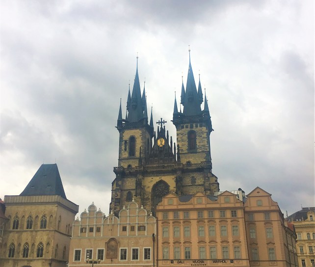 Prague - Church of Our Lady before Týn