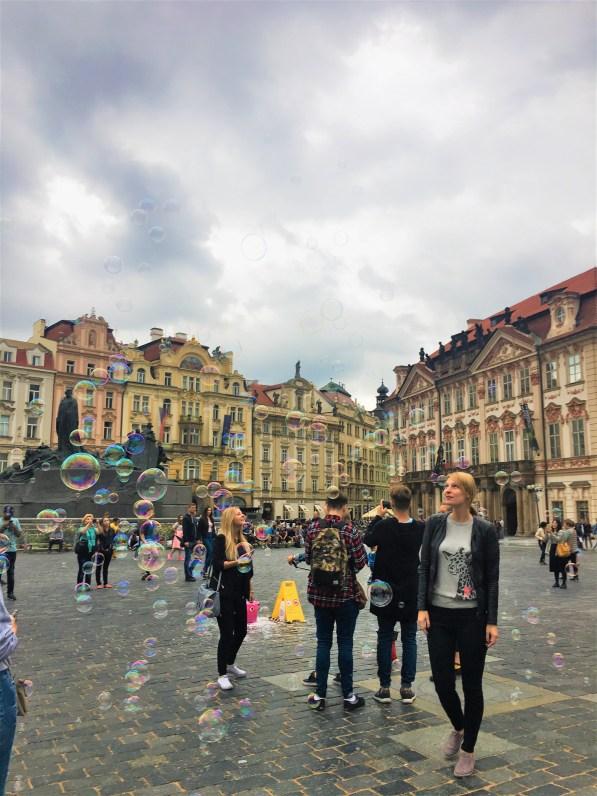Prague - old town square - culture