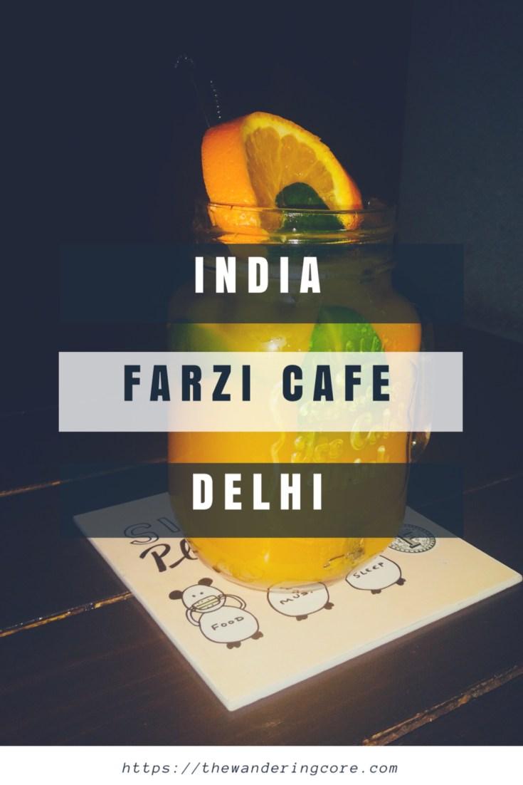 Farzi Café - Restaurant review - Delhi, India #foodblog #foodblogger #thewanderingcore #farzicafe #review #travel #india #delhi #asia