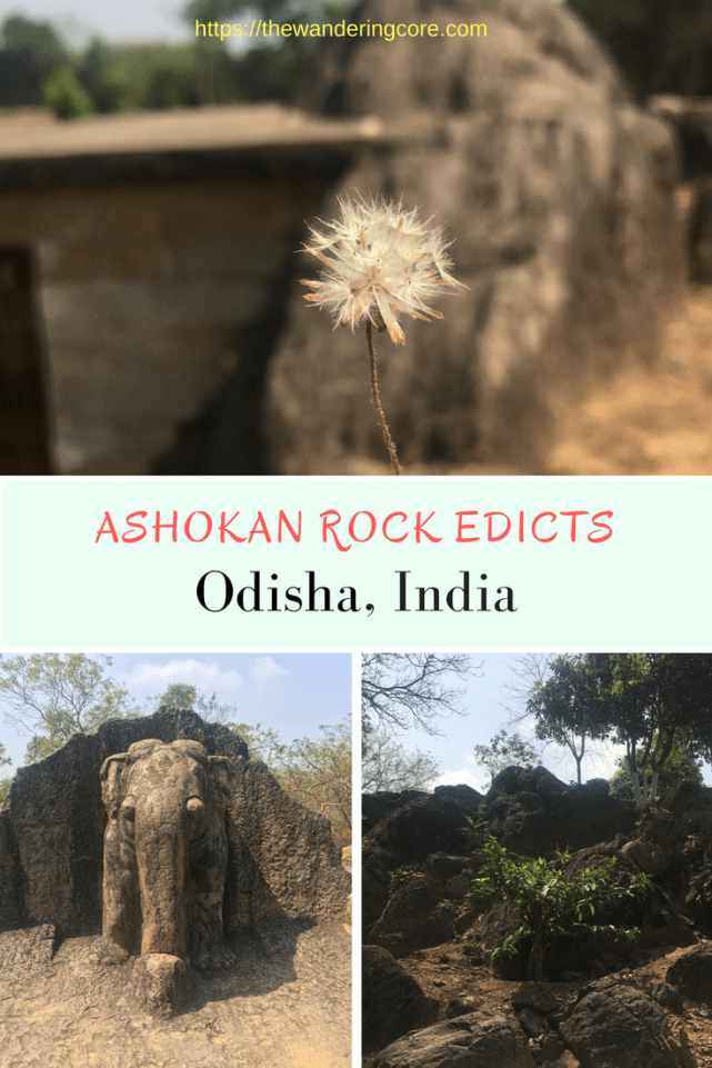 Ashokan Rock Edicts | Unexplored India | Incredible India | Solo female traveler | | India | Odisha | Asia | Traveling | travel | #thewanderingcore #travel #odhsa #shantistupa #india #asia