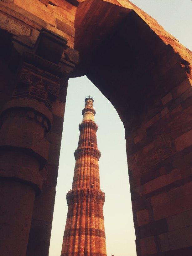 Qutub Minar, Delhi, India || Qutub Minar vintage