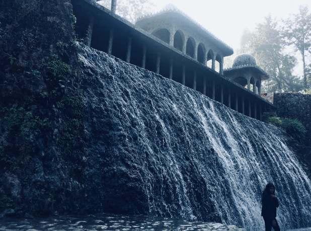 things to do in Chandigarh | Rock Garden Waterfall