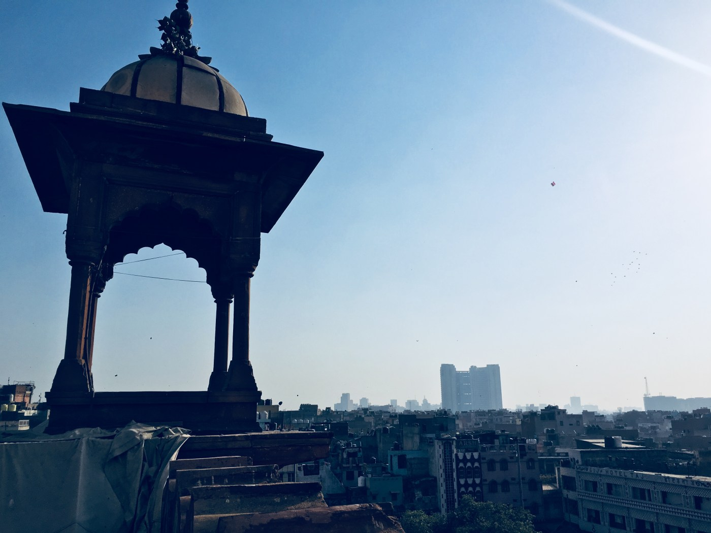 Views of Delhi from base of the Minaret of Jama Masjid | The largest mosque in India