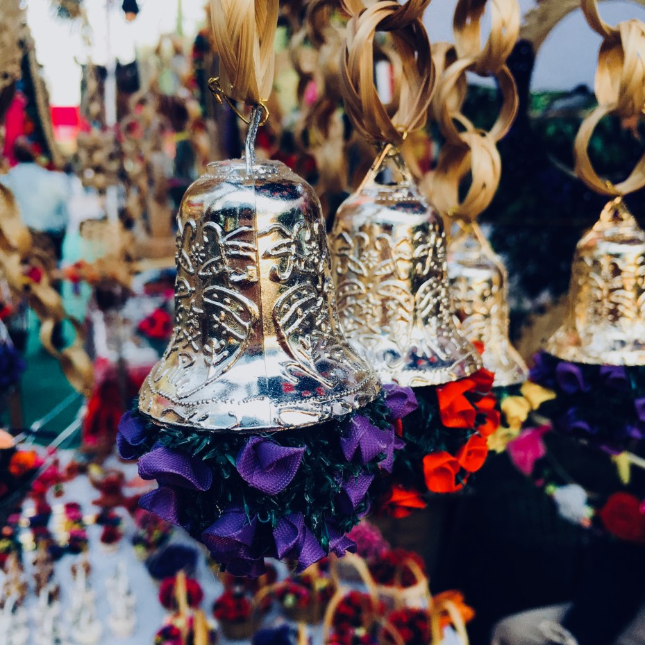 Small bells in Dilli Haat