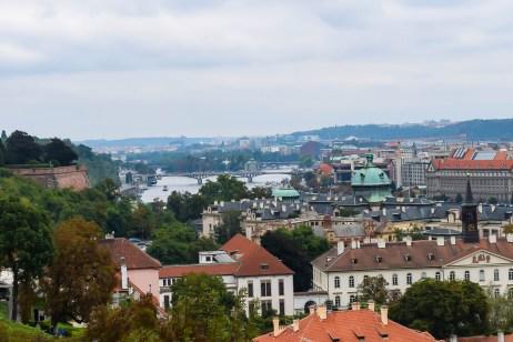 Landscape of Prague