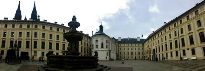 Prague castle pano