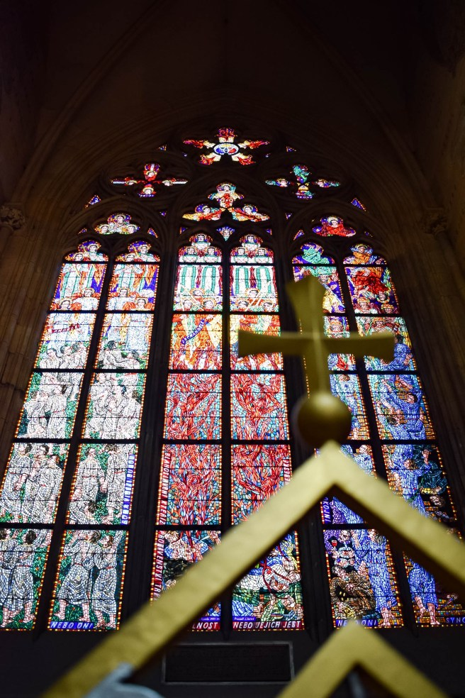 St Vitus Cathedral cross sigh