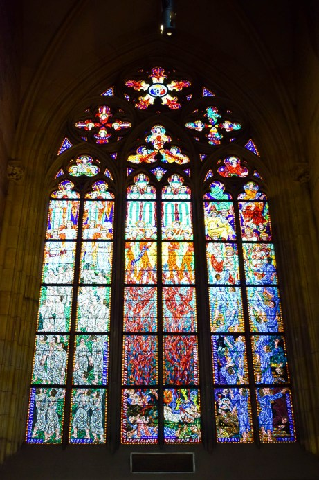 St Vitus Cathedral stained window