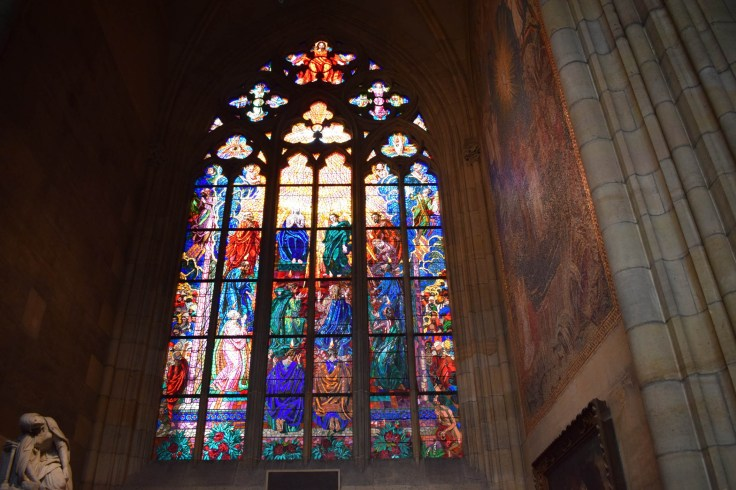St Vitus Cathedral windows