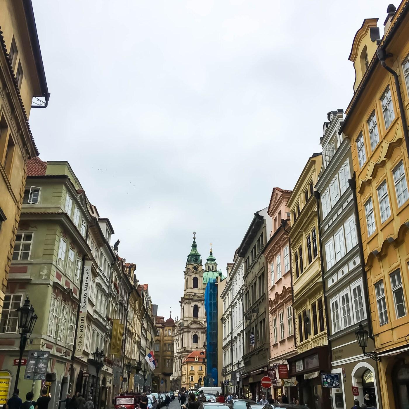 Way to Prague Castle