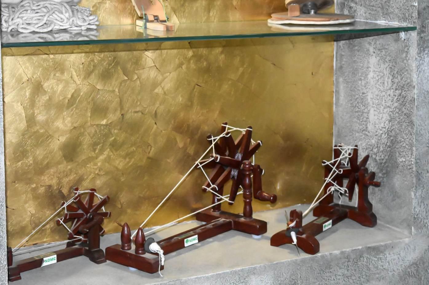 charkhas in charkha museum