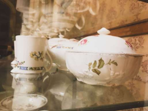 tea set - closeup
