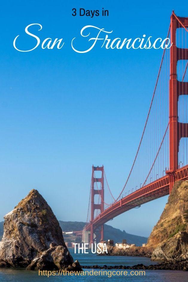 San Francisco itinerary | San Francisco 3 day itinerary | What to do in San Francisco in 3 days |  Day trips from San Francisco
