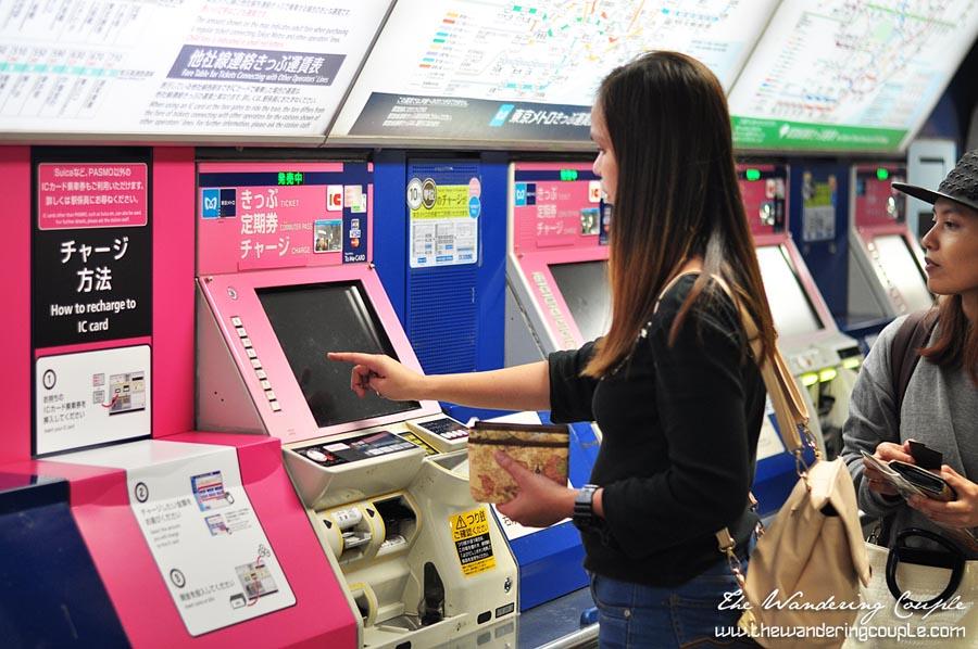 Japan Subway Ticket Counter