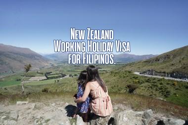 NZ Working Holiday Visa or Filipinos