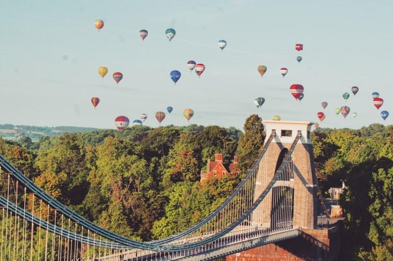 The Wandering Darlings- Bristol Balloon Fiesta