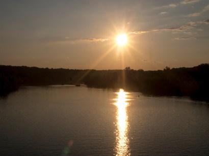 Sunset at Key Bridge