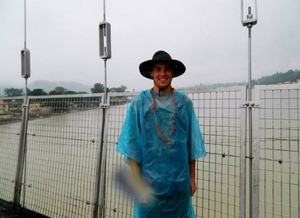 Brandon on Ram Jhula