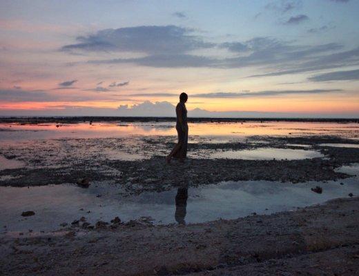 thuiskomen, sunset Gili T