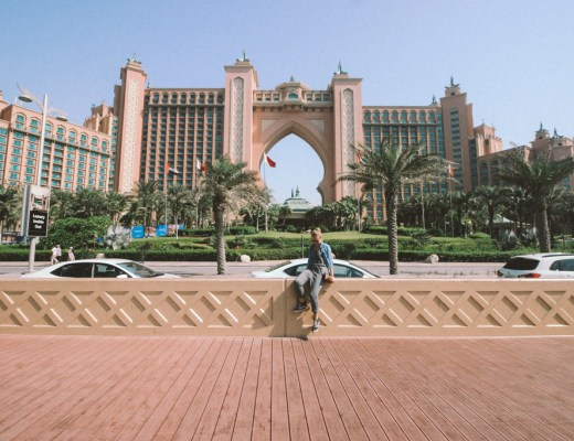 Atlantis The Palm Hotel Dubai | Highlights Dubai | Monorail Palm Jumeirah | Dubai | één dag in Dubai