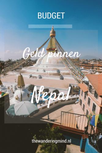 Geld pinnen | Nepal | Kathmandu | Pokhara