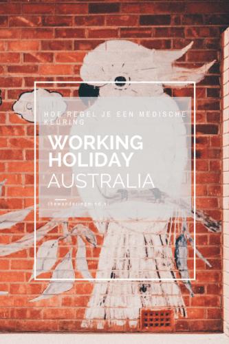 medische keuring working holiday visum australia