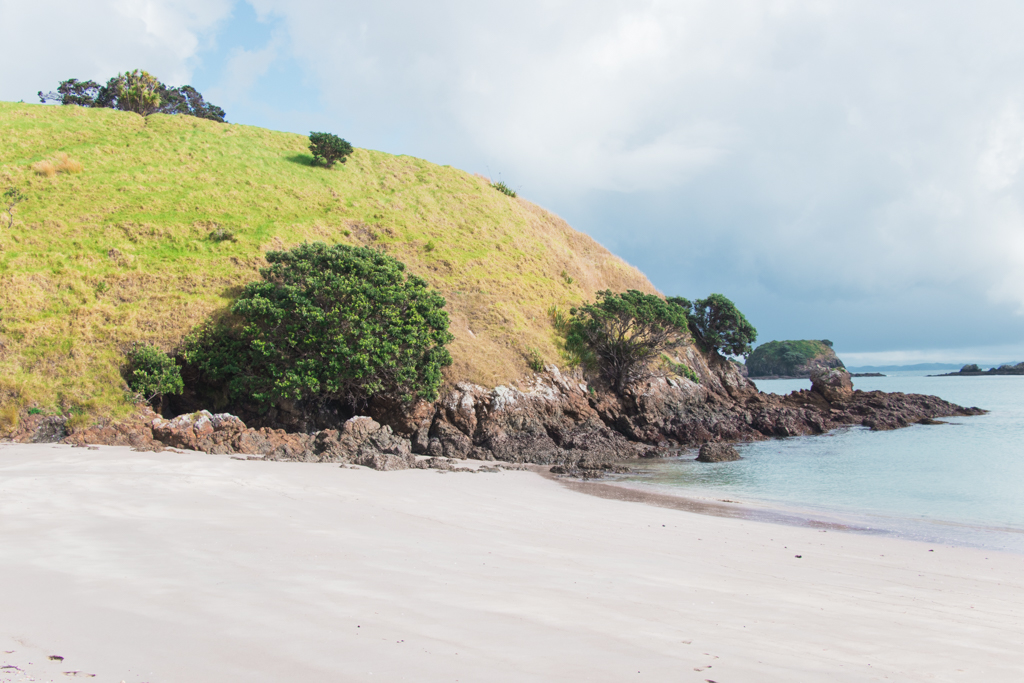 zeilen | Bay of Islands | Paihia | She's a Lady | Stingray Cove | Nieuw-Zeeland