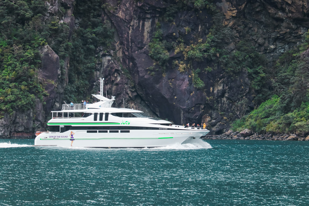 Taking a JUCY Cruise is a great way to explore Milford Sound