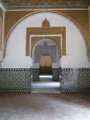 Hypnotic Moorish features in the Alcazar