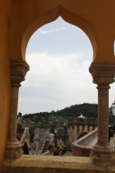 One of the many stunning views from the numerous terraces