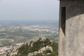 The view of the fort from the Pena Palace