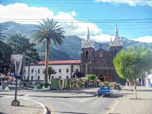 Banos Town and Church | Ecuador Itinerary