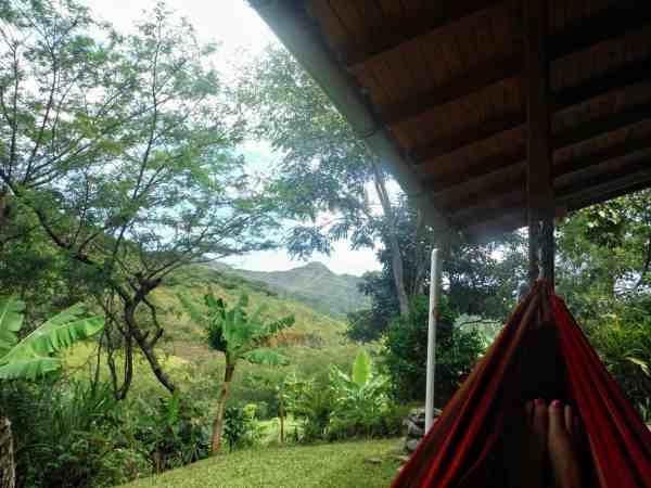 Vilcabamba Hosteria Izhcayluma Hammock View | Ecuador Itinerary
