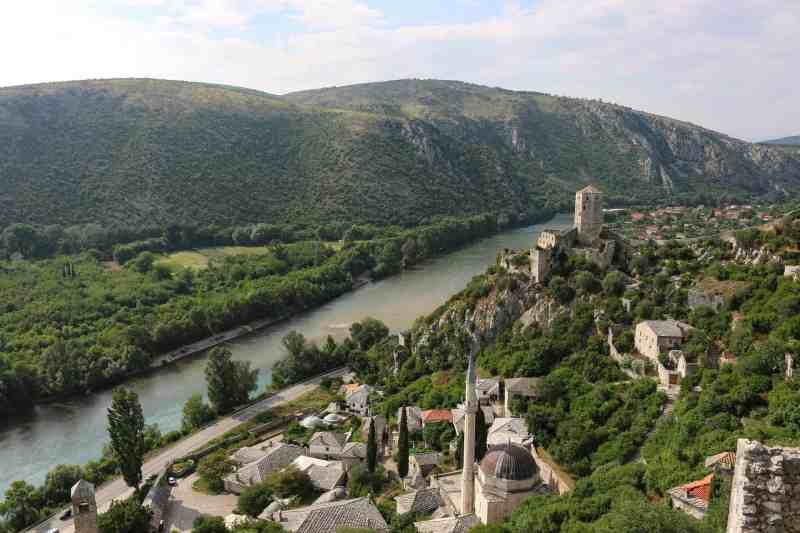 Pocitelj village and view | places to see in Mostar
