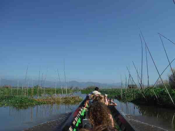 trekking from kalaw to inle lake