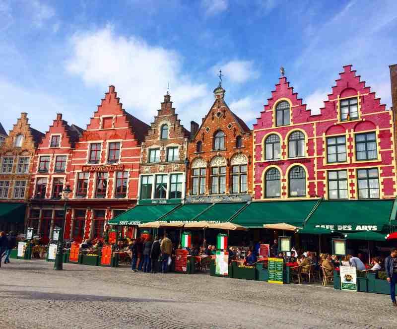 Gingerbread houses in Bruges | weekend in Belgium