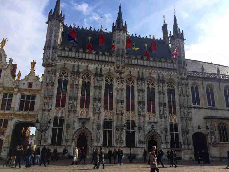 City Hall in Bruges