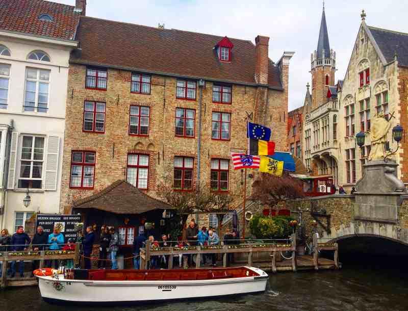 Canal in Bruges | weekend in Belgium