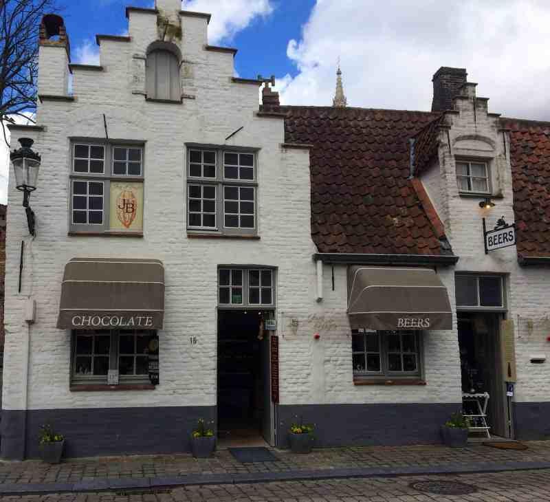 Bruges Chocolate and Beer Shop | weekend in Belgium