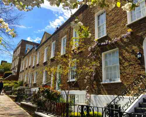 Beautiful Hampstead Houses.