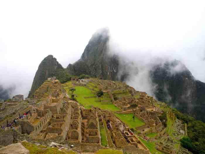 south america must visit places Machu Picchu