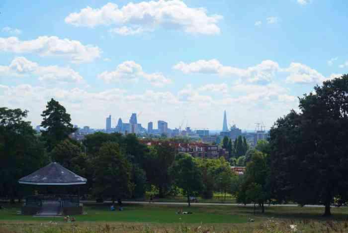 picnic spots in London, hampstead heath