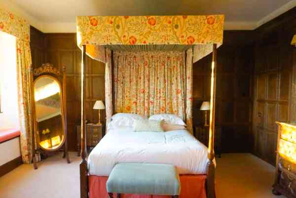 Bedroom The Manor Country House Hotel