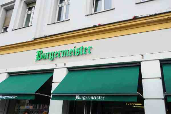 first time in Berlin, burgermeister best burger in germany