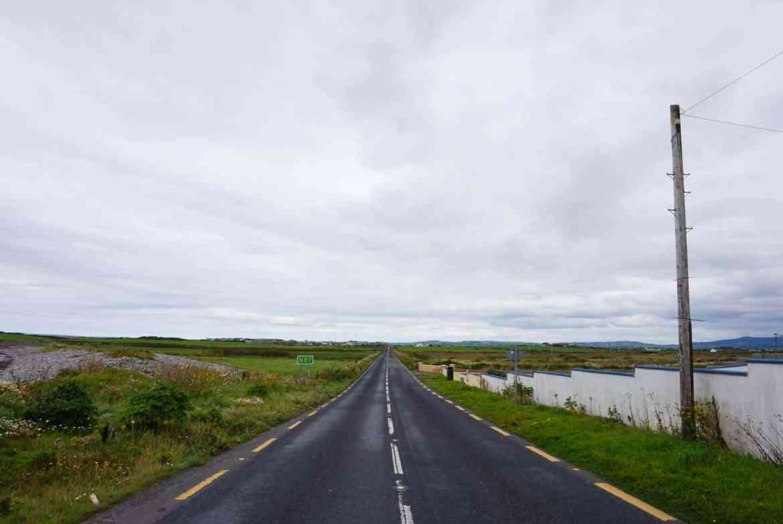 countryside west coast of ireland road trip