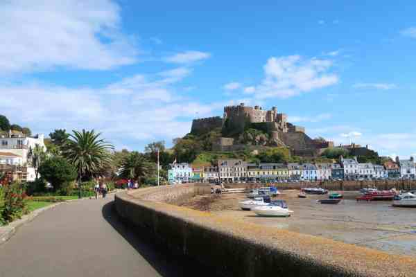 Jersey Channel Island itinerary, Mont Orgueil Castle